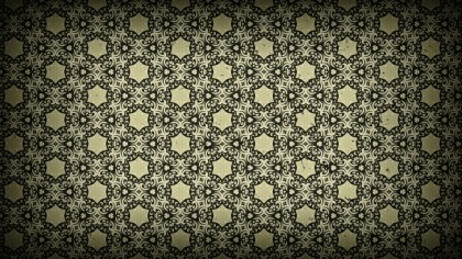 Dark Color Vintage Seamless Ornamental Pattern Background