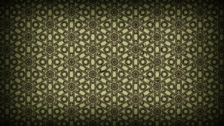 Dark Color Vintage Decorative Floral Ornament Background Pattern Design Template
