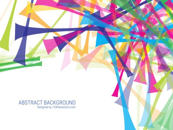 Colorful Abstract Background Vector Free