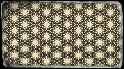 Dark Color Seamless Floral Vintage Pattern Background Image