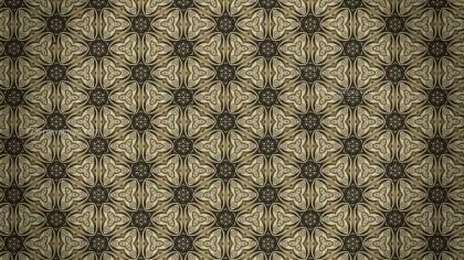 Dark Color Vintage Ornamental Pattern Background