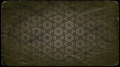 Dark Color Vintage Floral Ornament Background Pattern Template