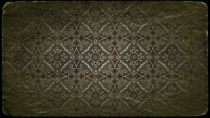Dark Color Vintage Flower Background Pattern