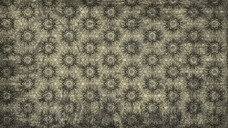 Dark Color Vintage Decorative Floral Seamless Pattern Wallpaper Design