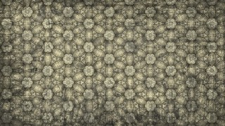 Dark Color Vintage Floral Ornament Wallpaper Pattern Graphic