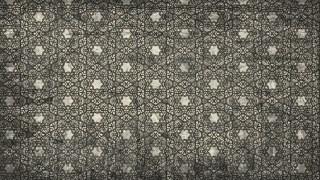 Dark Color Vintage Seamless Floral Wallpaper Pattern