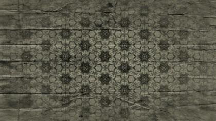 Dark Color Vintage Decorative Floral Seamless Pattern Wallpaper Design