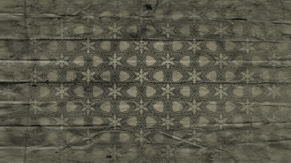 Dark Color Vintage Ornamental Pattern Wallpaper