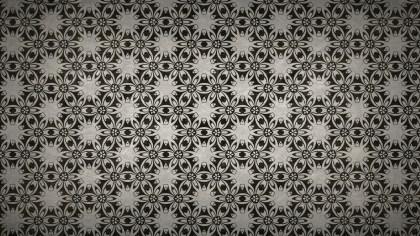 Dark Color Seamless Floral Vintage Pattern Background Image