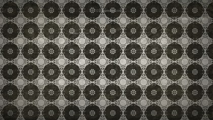 Dark Color Vintage Decorative Floral Seamless Pattern Background Image