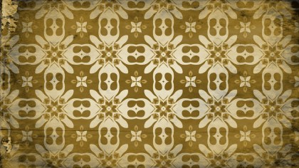 Dark Color Vintage Decorative Floral Pattern Wallpaper