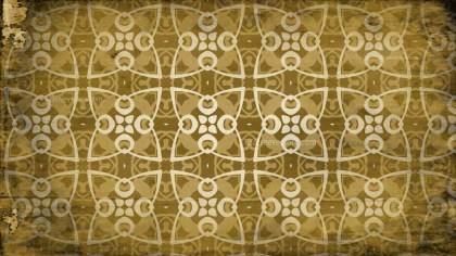 Dark Color Vintage Floral Pattern Wallpaper