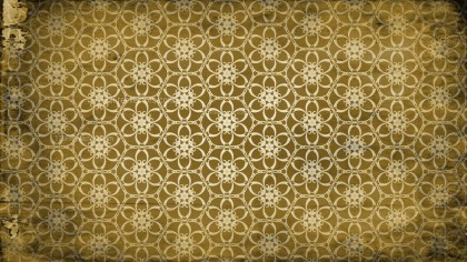 Dark Color Vintage Decorative Floral Ornament Wallpaper Pattern Image