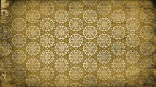 Dark Color Vintage Floral Ornament Wallpaper Pattern Graphic