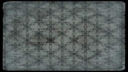 Dark Color Vintage Flower Background Pattern