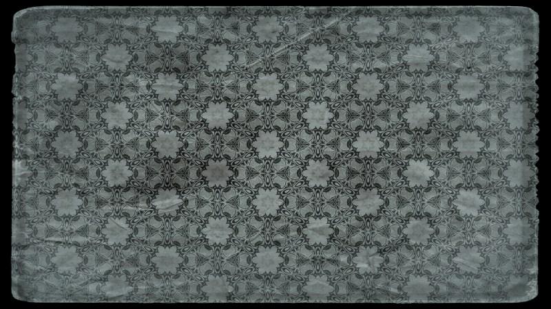 Dark Color Vintage Flower Wallpaper Pattern