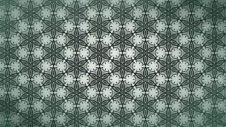 Dark Green Vintage Decorative Ornament Background Pattern