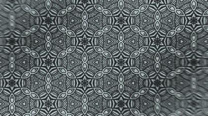 Dark Green Vintage Flower Wallpaper Pattern