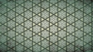 Dark Green Vintage Seamless Wallpaper Pattern Template