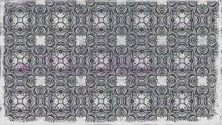Dark Gray Seamless Floral Wallpaper Pattern