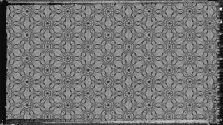 Dark Grey Floral Pattern Background