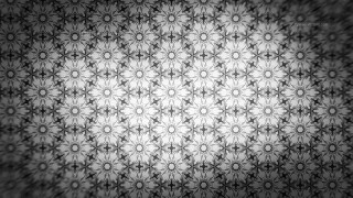 Dark Grey Ornamental Pattern Background