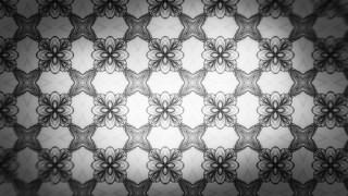Dark Gray Ornamental Seamless Pattern Background Design Template