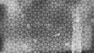 Dark Gray Vintage Seamless Ornamental Pattern Background