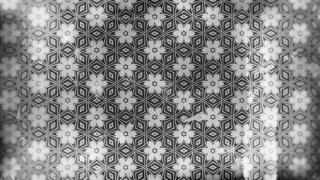 Dark Gray Vintage Flower Background Pattern