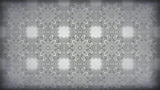 Dark Grey Vintage Seamless Ornament Wallpaper Pattern Design Template