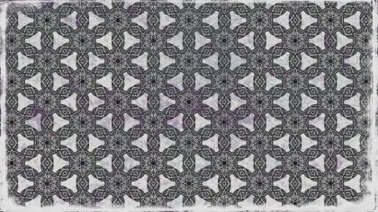 Dark Grey Vintage Seamless Wallpaper Pattern Template