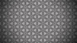 Dark Grey Vintage Ornament Background Pattern Image
