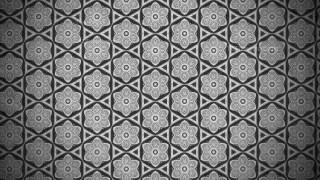 Dark Grey Vintage Floral Pattern Texture Background Template