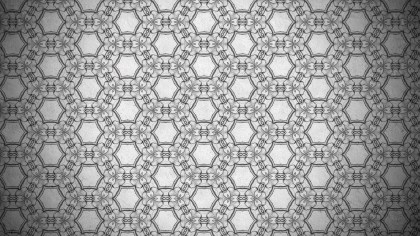 Dark Gray Ornamental Vintage Background Pattern