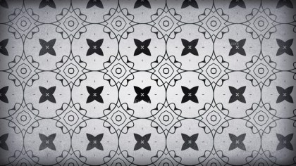 Dark Gray Vintage Seamless Wallpaper Background