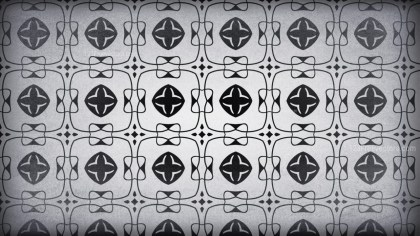 Dark Grey Vintage Seamless Wallpaper Pattern Template