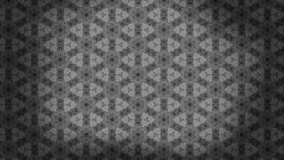 Dark Grey Vintage Decorative Floral Seamless Pattern Wallpaper Design