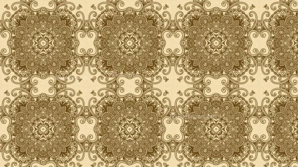 Ecru Vintage Seamless Wallpaper Pattern Template