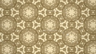 Ecru Vintage Seamless Ornamental Pattern Background