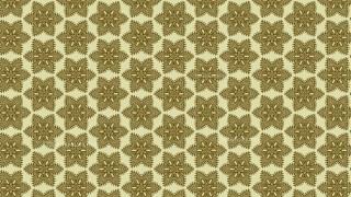 Ecru Vintage Decorative Floral Seamless Pattern Wallpaper Design