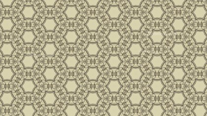 Ecru Vintage Decorative Ornament Wallpaper Pattern