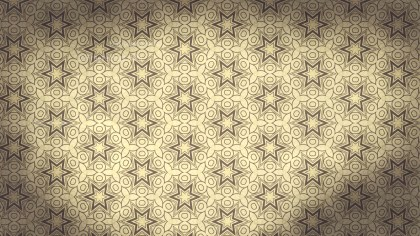 Ecru Vintage Flower Wallpaper Pattern