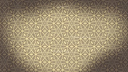 Ecru Vintage Ornament Wallpaper Pattern Design