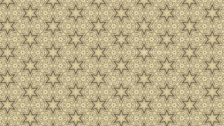 Ecru Vintage Seamless Ornament Wallpaper Pattern Design Template