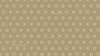 Ecru Ornamental Vintage Background Pattern