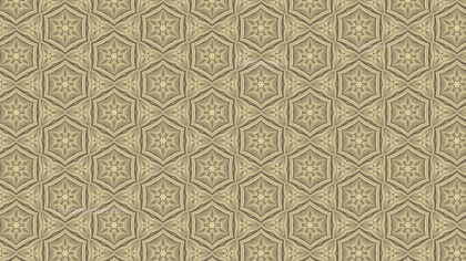 Ecru Ornamental Vintage Background Pattern