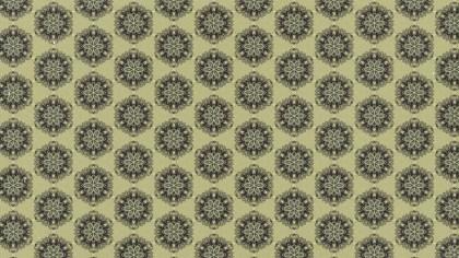 Ecru Vintage Seamless Wallpaper Pattern Template