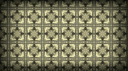 Ecru Vintage Ornamental Pattern Background