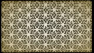 Ecru Vintage Decorative Floral Ornament Background Pattern Design Template