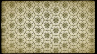 Ecru Vintage Decorative Floral Pattern Wallpaper